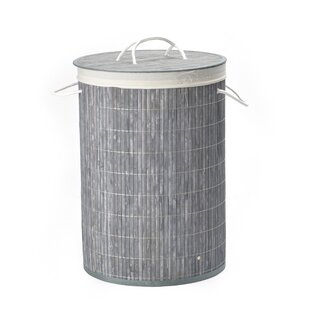 Bamboo Laundry Basket With Liner