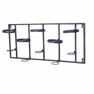 Welland LLC 5 Bottle Wall Mounted Wine Rack