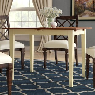 Balfor Extendable Solid Wood Dining Table Andover Mills