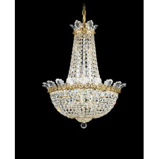 Schonbek Roman 10-Light Chandelier