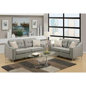 Fleek 2 Piece Living Room Set