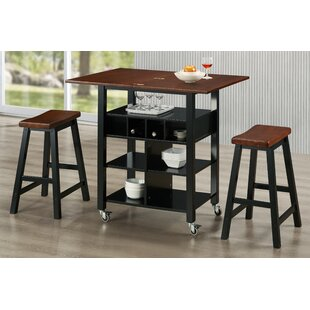 Winston Porter Barbara Kitchen Island Set
