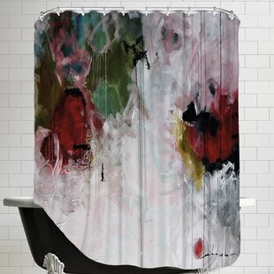 Top Reviews Eruptus Shower Curtain ByEast Urban Home