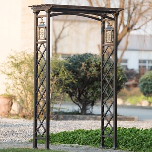 Sunjoy Metal Arbor with Lanter..