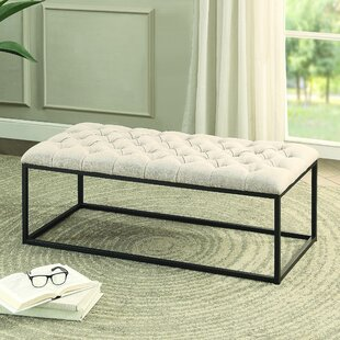 Look for Laura Upholstered Bench By Gracie Oaks