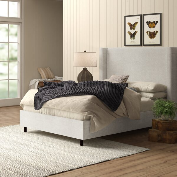 Shop Sanford Upholstered Standard Bed from Wayfair on Openhaus