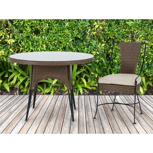 Arleigh Patio Dining Chair With Cushion (Set Of 2) by Bayou Breeze Herry Up