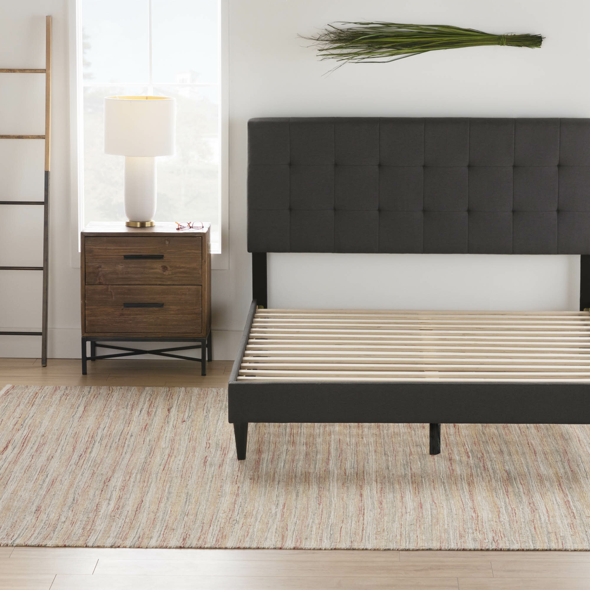 Wayfair Black Upholstered Beds You Ll Love In 2021