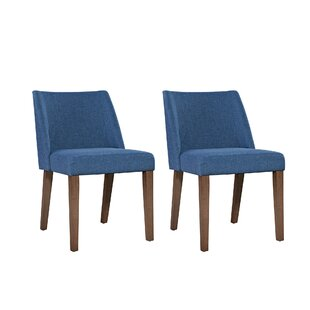 Grimmer Upholstered Dining Chair (Set of 2)