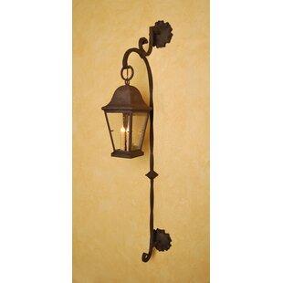 Greenbaum 3-Light Outdoor Wall Lantern by..