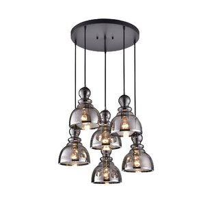 Kaci 6-Light Cluster Pendant b..