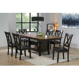 Roselare 7 - Piece Butterfly Leaf Dining Set by Red Barrel Studio®
