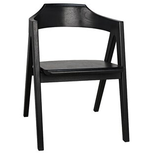 Anan Solid Wood Dining Chair by Noir