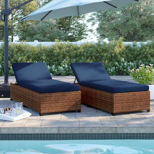 Waterbury Chaise Lounge with Cushion (Set of 2)