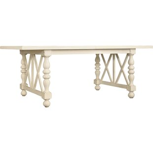 Sandcastle Rectangle Extendable Solid Wood Dining Table with 2 Leaves by Hooker Furniture