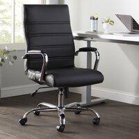 Deals on Wayfair Basics High Back Swivel w/Wheels Ergonomic Executive Chair