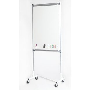 White Board 36W Garment Rack By Quality Fabricators