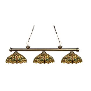 Billington 3-Light Pool Table Light Pendant by Fleur De Lis Living