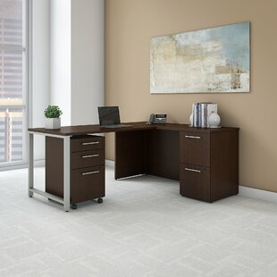 Bush Business Furniture 400 Series 4 Piece Desk Office Suite