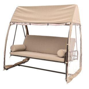 TrueShade™ Plus Swinging Polyester Hammock with Stand