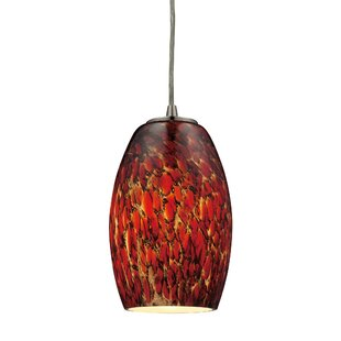 Latitude Run Dorado 1-Light Cone Pendant