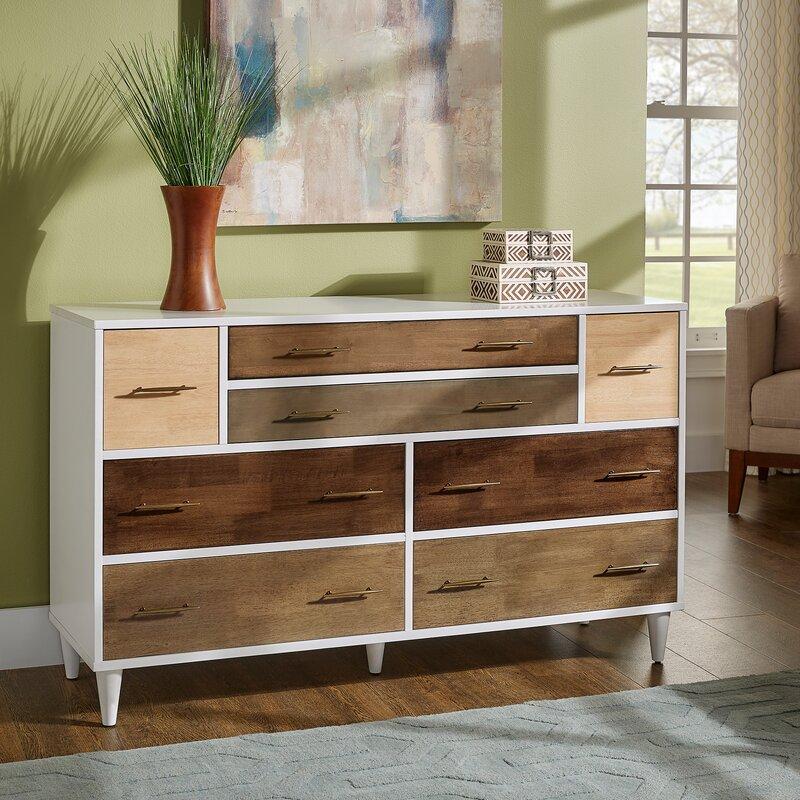 Kingstown Home Dorcas 8 Drawer Dresser