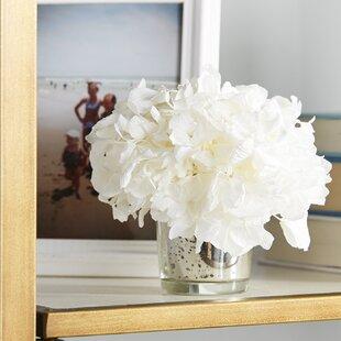 Mini Preserved Hydrangea in Vase