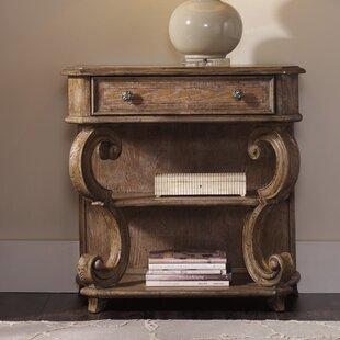 Hooker Furniture Solana 1 Drawer Leg Nightstand