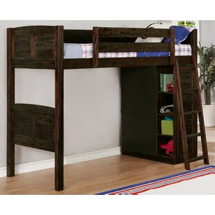 Basnight Twin Loft Bed by Harriet Bee