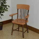 Wyton Hickory Solid Wood Dining Chair by Loon Peak®