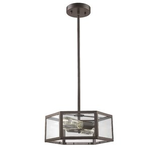 Laurel Foundry Modern Farmhouse Bouvet 2-Light Drum Chandelier