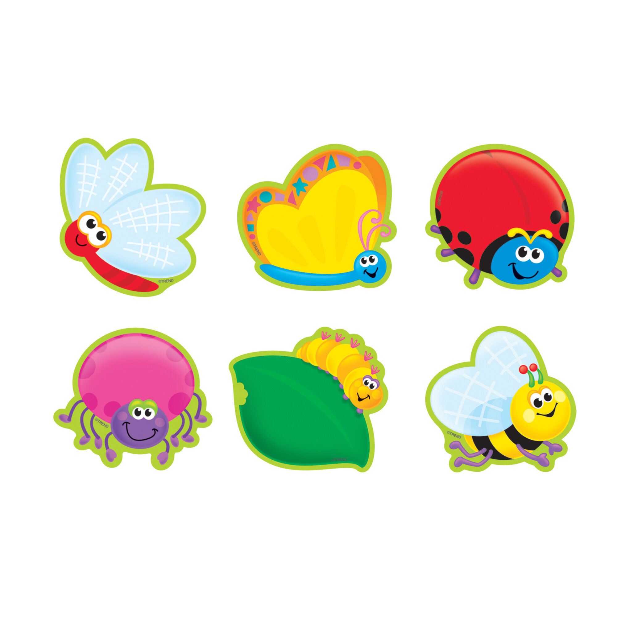 Trend Enterprises 36 Piece Bugs Mini Variety Mini Accent Set Wayfair