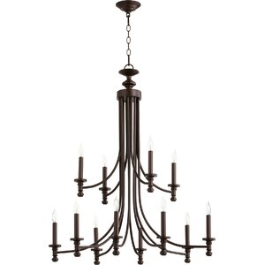 Rossington 12-Light Candle-Style Chandelier