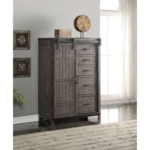 Jigna 5 Drawer Combo Dresser by Gracie Oaks