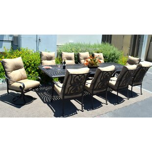 K&B Patio Santa Anita 11 Piece Dining Set