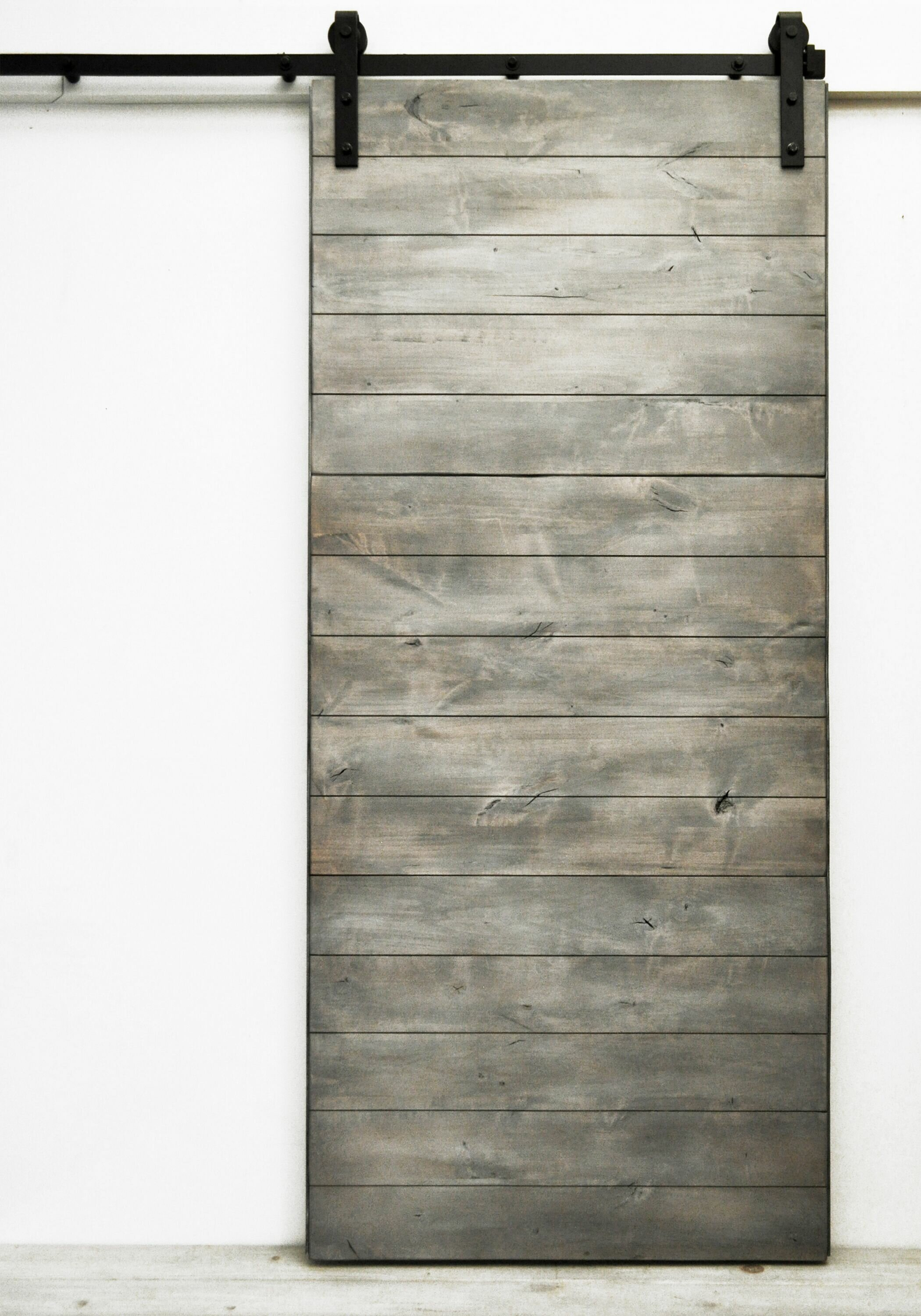 Dogberry Collections Latitude Wood 1 Panel Interior Barn Door
