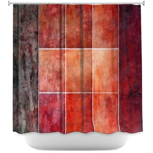 Lava Single Shower Curtain