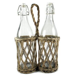 Picnic 2 Bottle Hanging Wine Rack (Set of 2) by Blossom Bucket