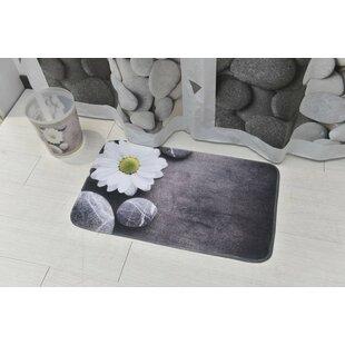 Comparison Zen Garden Printed Microfiber Bath Rug ByEvideco
