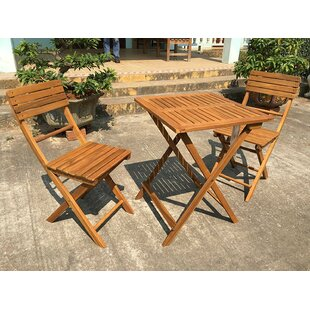 Danforth 3 Piece Bistro Set