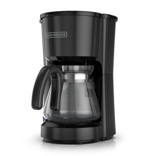 5-Cup 4-in-1 Station Stainless Steel Coffee Maker