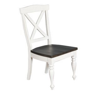 Villepinte X-Back Dining Chair August Grove
