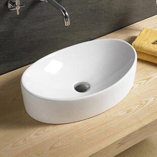 Find Ceramic Oval Vessel Bathroom Sink By Vanitesse