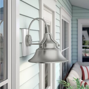 Beachcrest Home Manalapan 1-Light Outdoor Wall Sconce