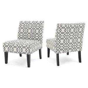 Veranda Slipper Accent Chair (Set of 2)