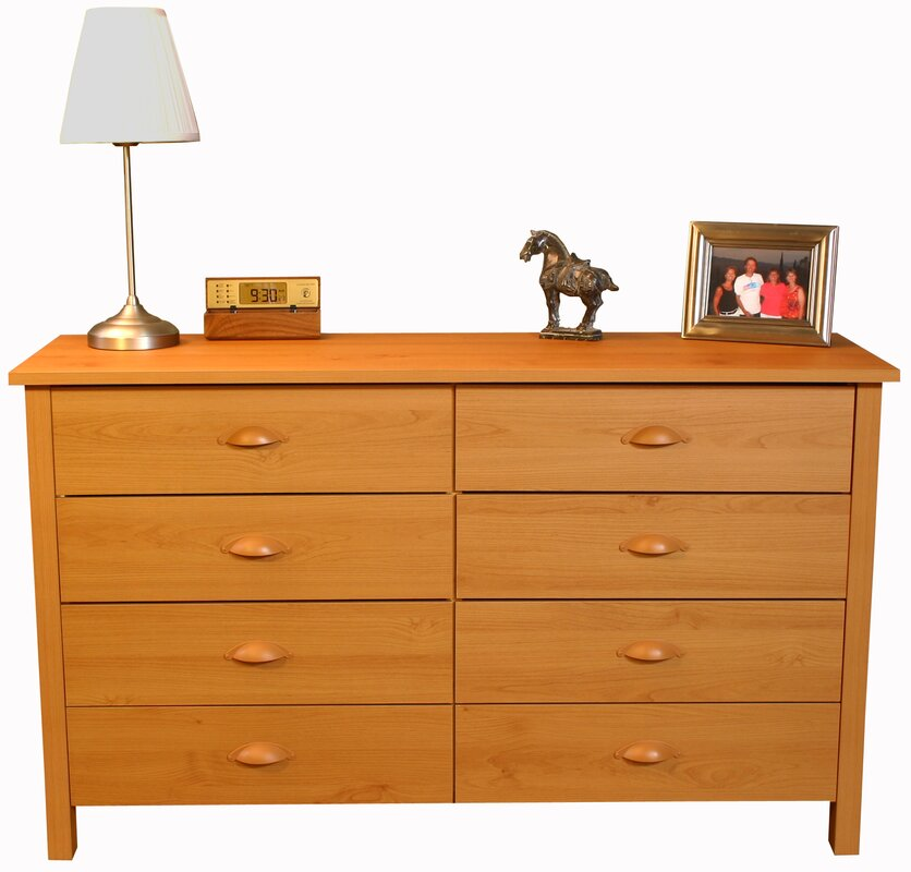 Ashton 8 Drawer Double Dresser