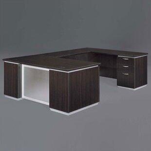 Pimlico U-Shape Executive Desk by Flexsteel Contract