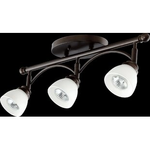 Hewlett 3-Light Semi Flush Mount in Oiled Bronze by Three Posts