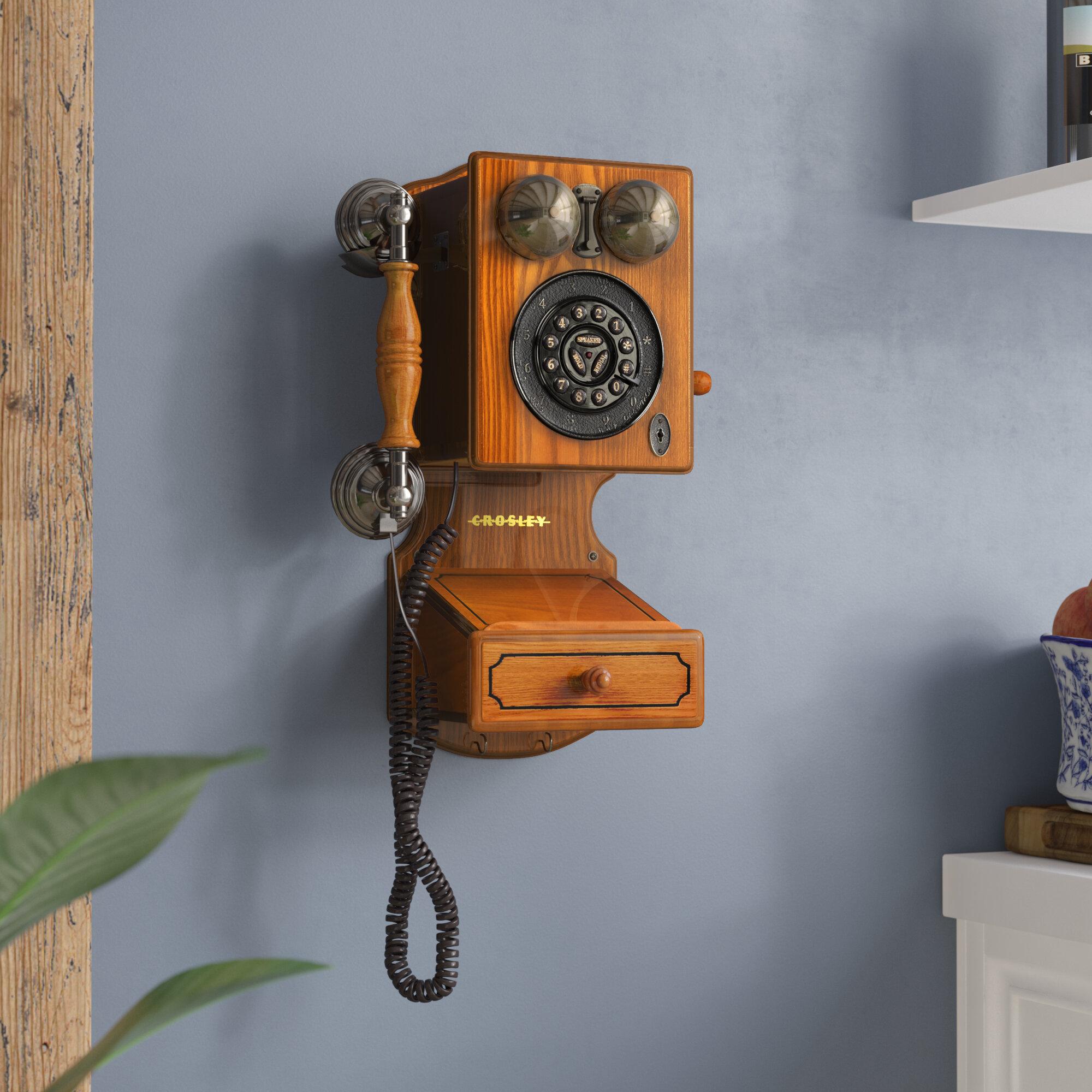 Astoria Grand Country Kitchen Wall Phone & Reviews | Wayfair