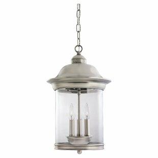 Bloomsbury Market Brettany 3-Light Outdoor Hanging Lantern